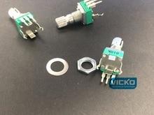 Potentiomètre réglable de précision R09 RK09 B10K B50K B100K 15MM R09 pied incurvé vertical simple
