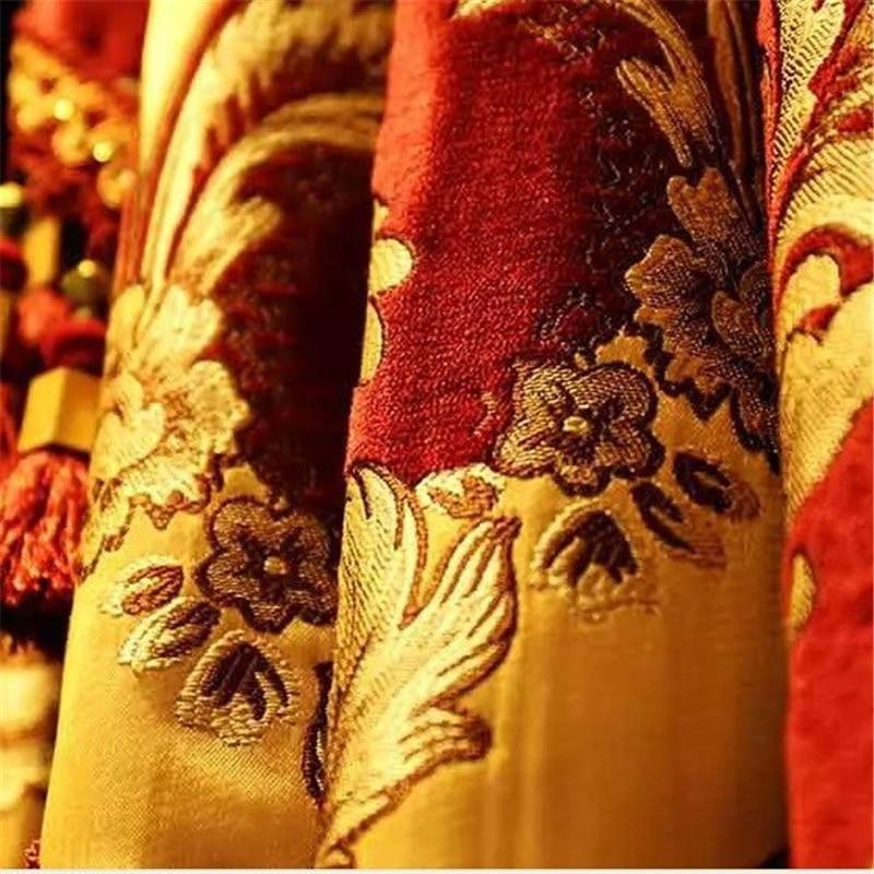 Image 4 - Royal aristocrático europeu bordado completa sombra cortinas para  sala de estar luxo villas decoradas cortinas para o  quarto/hotelcurtains forcurtains for living roomcurtains for bedroom -