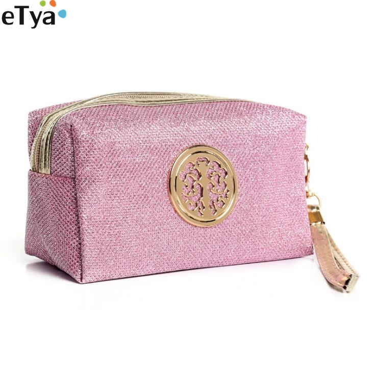 Women Cosmetic Bag Travel Fashion Portable Makeup Bag for Girls Pouch Toiletry Organizer Case Clutch Bag Case fashion travel cosmetic bag makeup case portable travel pouch toiletry wash organizer trousse de maquillage for