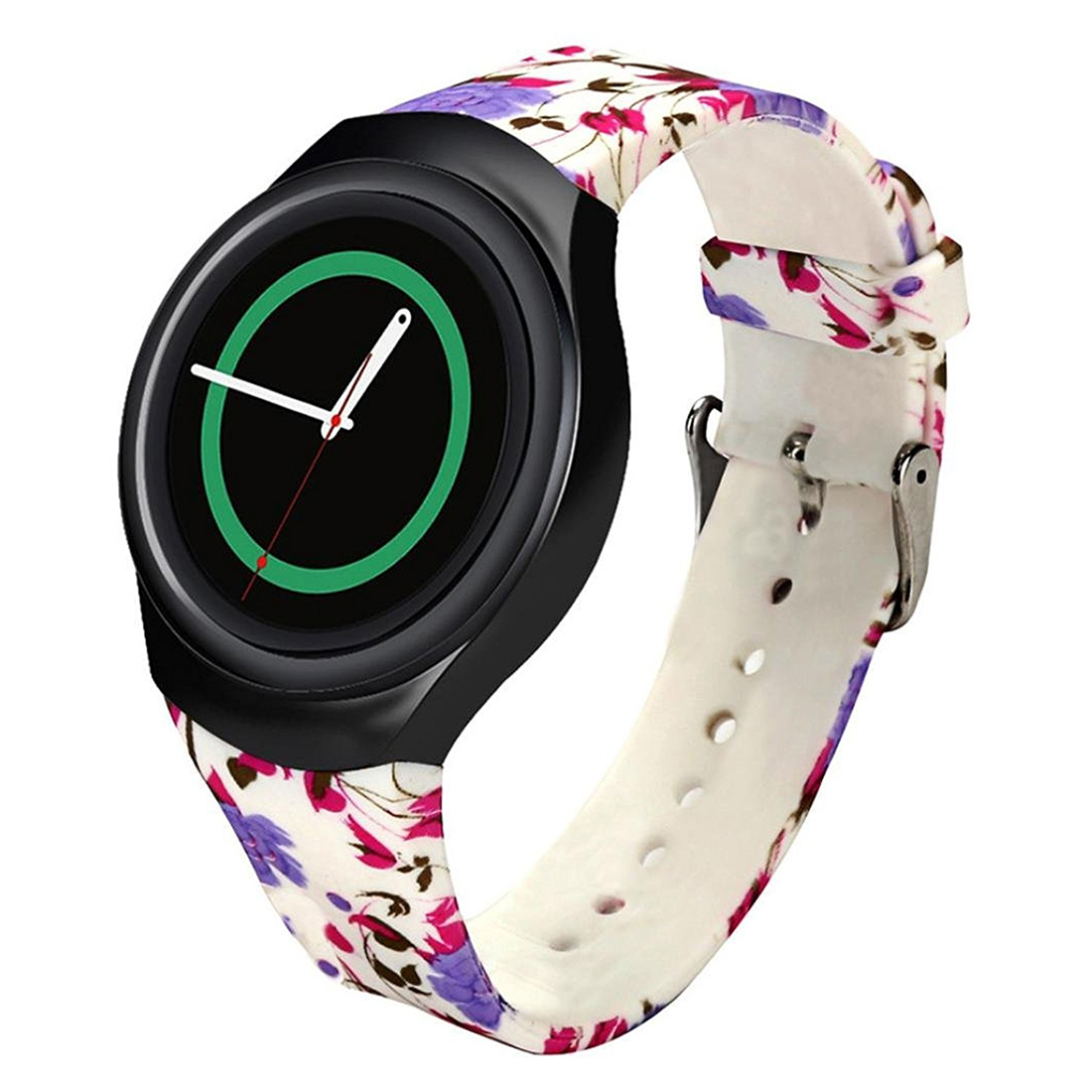Gear S2 Watch Band, Luxury TPU Silicone Strap Watch Band for Samsung Galaxy SM-R720 Colorful J gear s2 watch band luxury tpu silicone strap watch band for samsung galaxy sm r720 colorful j