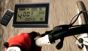 Image 5 - 800W 1000W 35Amax 48V fırçasız DC Motor kontrolörü Ebike denetleyici + KT LCD3 ekran bir Set