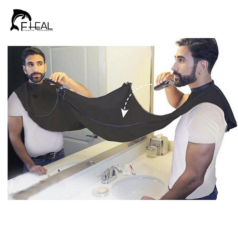 ᗚFHEAL Diseño Barba Afeitado Cuidado Delantal Bib Catcher Trimmer ...
