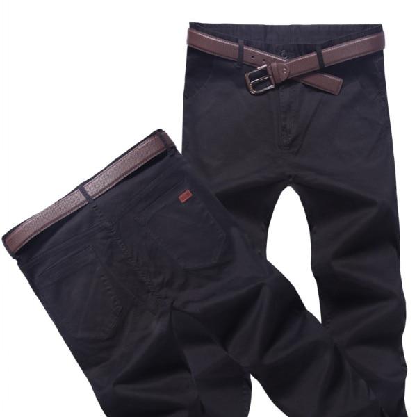 Топ размера плюс 6xl 46 44 48 мужские большие хип-хоп брюки хлопок Новые Большие размеры мужские повседневные брюки - Цвет: Черный