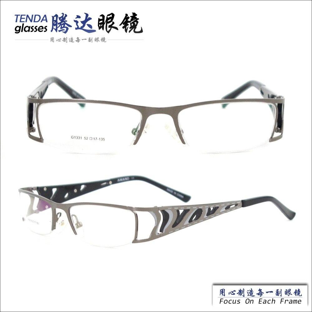 New Designer Fashion Glasses Prescription Men Eyeglass