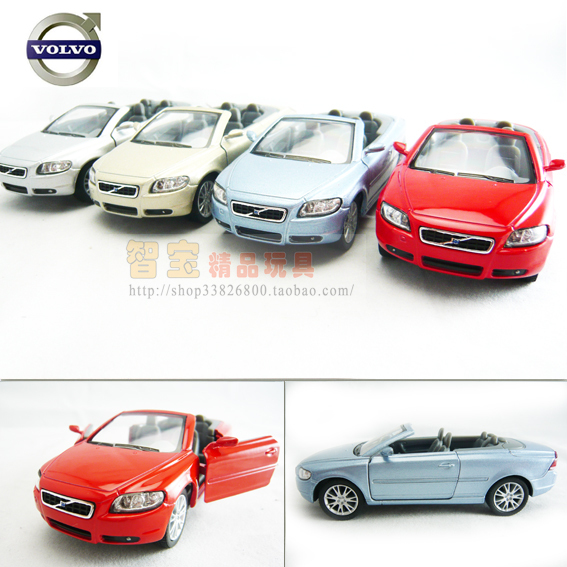soft world VOLVO c70 WARRIOR car alloy car model toy