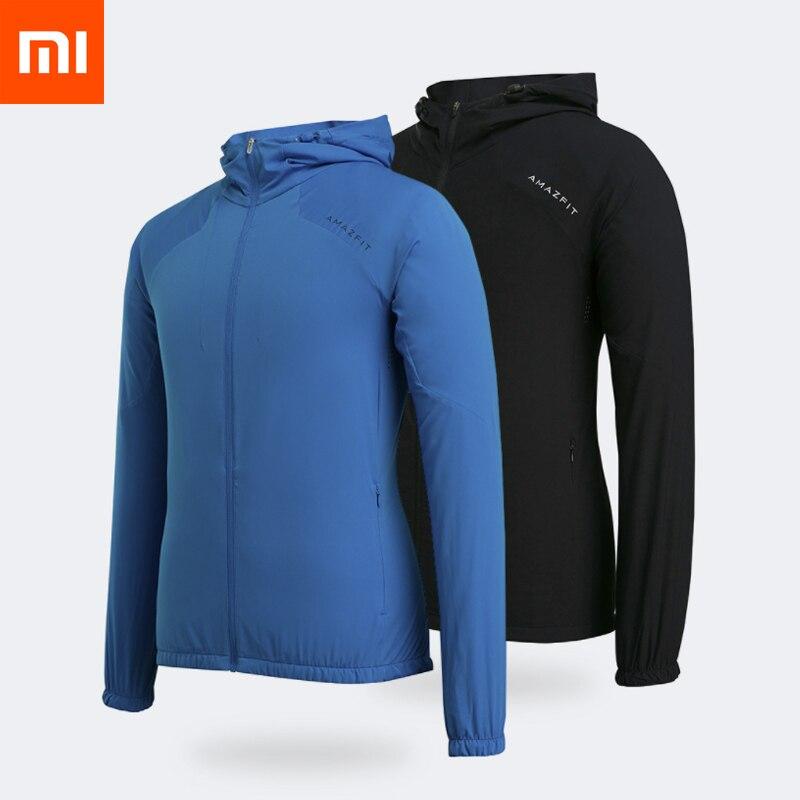 Xiaomi Mijia Amazfit resistente rompevientos impermeable al aire libre chaqueta hombres ropa-in control remoto inteligente from Productos electrónicos on AliExpress - 11.11_Double 11_Singles' Day 1