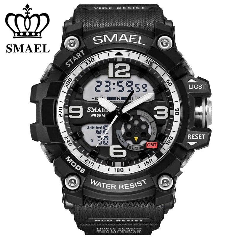 SMAEL αναλογικό-ψηφιακό ρολόι ανδρών - Ανδρικά ρολόγια - Φωτογραφία 4