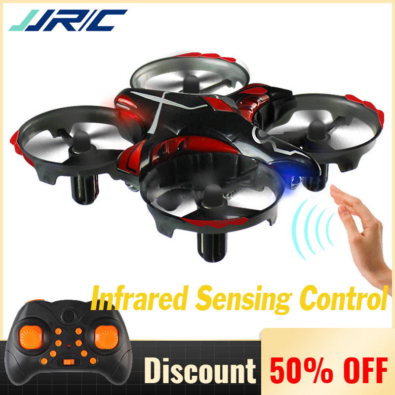 JJR/C JJRC H56 Micro Quadcopter With Infrared Sensor Mini Drone Quadrocopter RC Toys VS JJRC H36 Gesture Control Mode