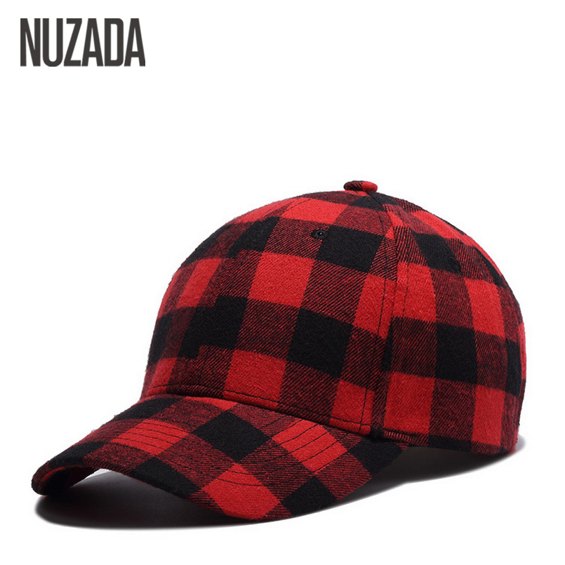 Brand NUZADA Spring Summer Cap Hip Hop Hats Snapback Bone Baseball Caps For Women Men Grid Cotton Internal Double Layer for xerox 013r00591 drum chip for xerox wc 5325 drum unit chip drum chip for fuji xerox workcentre 5325 5330 5335 laser printer
