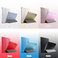 protective pu leather Tablet Case For iPad Air 2 Cases Flip Auto Sleep Bumper For Apple iPad 6 iPad Air 2 Air2 iPad6 Cover Protective PU Leather Bags (2)