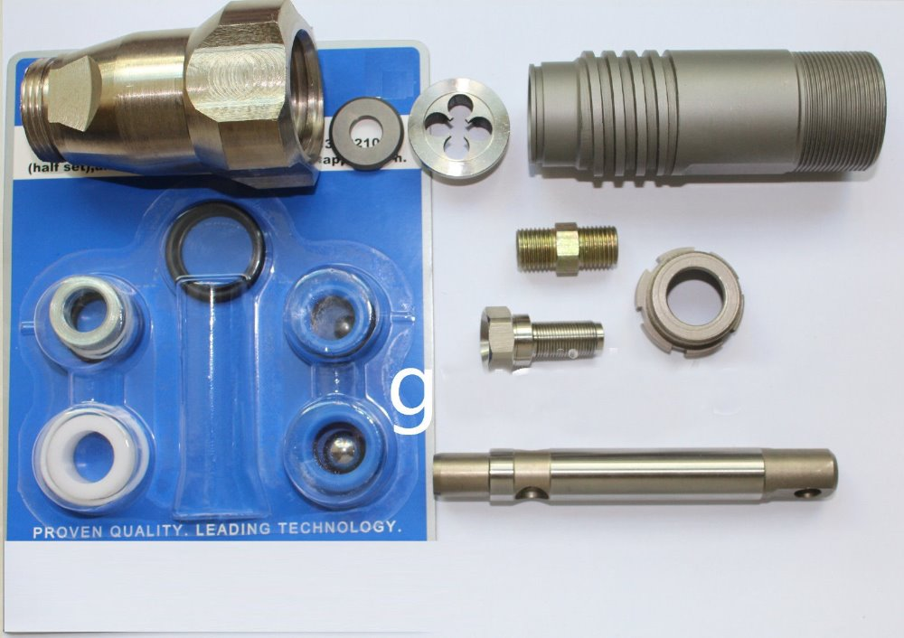 Aftermarket Airless Pump Repair Kit Parts 244194 With Assembled Pump 246428 For 395 495 595