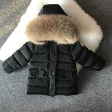 5d21389deaed3 2019 nouveau enfants doudoune épaississement blanc canard vers le bas manteau  chaud bébé fille garçon grand
