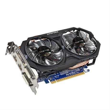Gigabyte GV-N75TOC-2GI cartes graphiques d'origine 128 bits GTX 750 Ti 2G GDDR5 carte vidéo 2 * DVI 2 * HDMI pour Nvidia Geforce GTX750 Ti