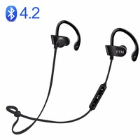 HRH Earphone Bluetooth 4 2 Headphones BT Wireless Headset With Microphone Earbuds For Earpods Airpods