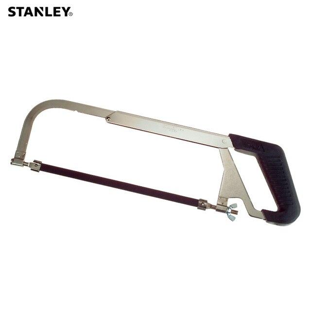 Stanley 1pc adjustable hacksaw frame w/ 10 2