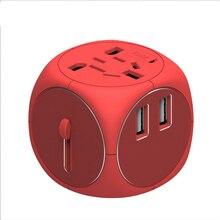 Comune Universale EU UK AU a US USA AC Travel Power Adapter Caricatore Della Spina Adattatore Di Conversione per Uso Domestico per la di viaggio
