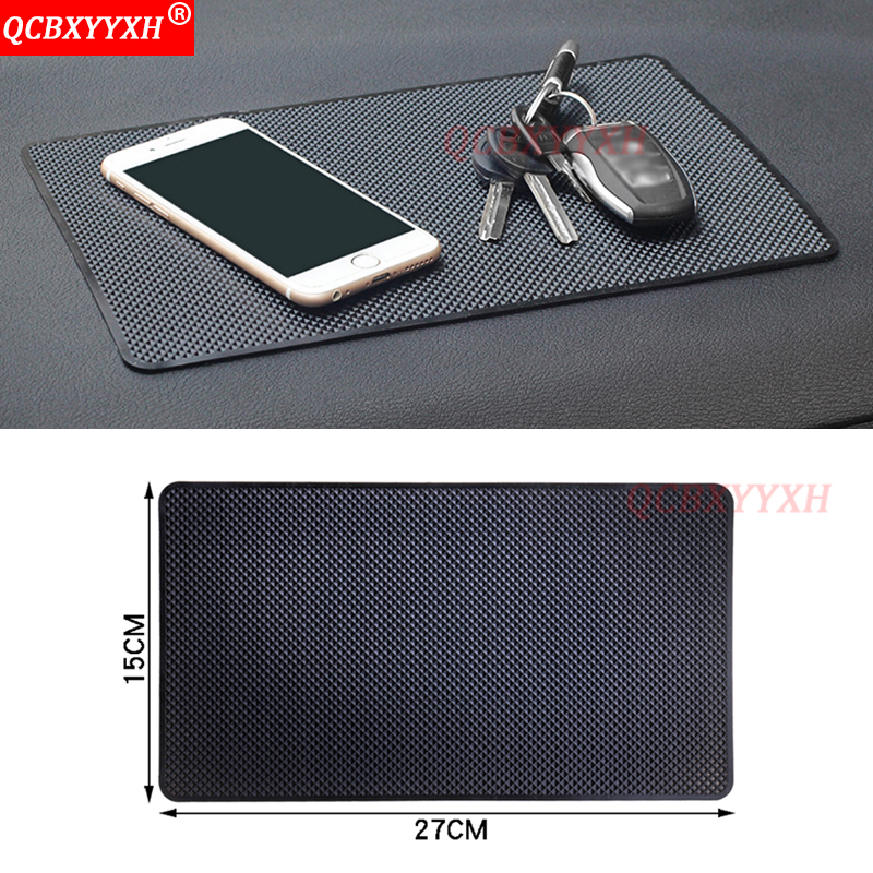 QCBXYYXH Car-styling Auto Interior Anti-Slip Mat Anti Skid Pad Grid Anti-Skid Pad Instrument Panel Mat For Mobile Phone MP4 PadQCBXYYXH Car-styling Auto Interior Anti-Slip Mat Anti Skid Pad Grid Anti-Skid Pad Instrument Panel Mat For Mobile Phone MP4 Pad