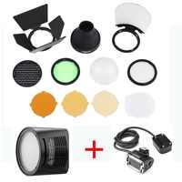 Godox AK-R1 kit de accesorios Compatible para Godox AD200/H200R ronda cabeza de Flash con Godox EC200... godox AK-R1 y Godox H200R