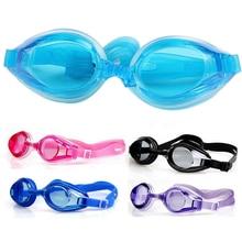 Colorful Adjustable Children Kids Waterproof Silicone Anti Fog UV Shield Swimming Glasses Goggles Eyewear Eyeglasses