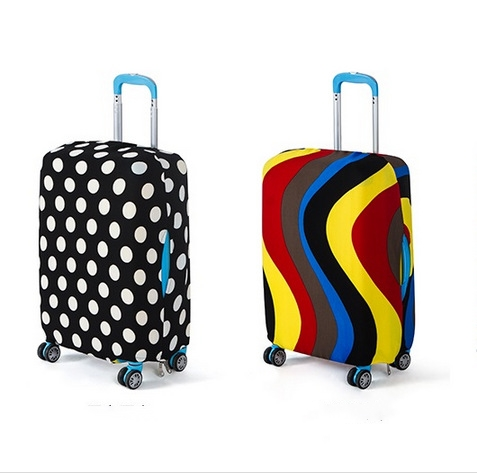 eTya Travel Stretch Fabric Luggage Cover Protective Suitcase Elastic Trolley  Baggage Suitcase Dust Cover Bag Travel AccessorieseTya Travel Stretch Fabric Luggage Cover Protective Suitcase Elastic Trolley  Baggage Suitcase Dust Cover Bag Travel Accessories