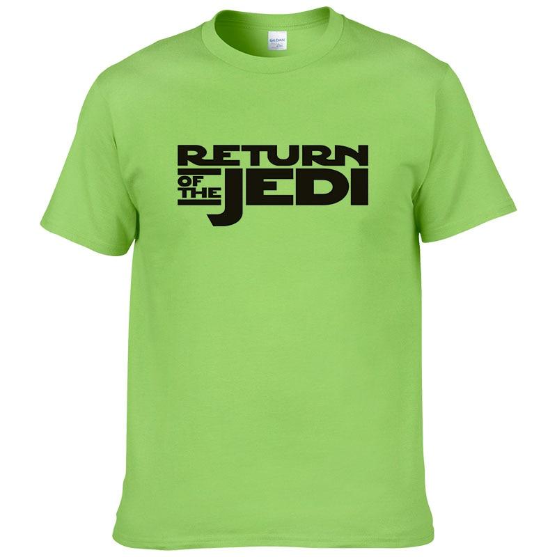 2019 Fashion Printed T shirt Classic movie Star Wars Return of the Jedi T Shirt Men Brand Clothing 2017 Summer Cool QU