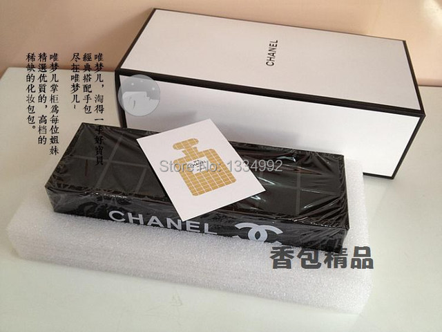 Black Makeup Organizer Cosmetic Acrylic Storage Box Jewelry Sundries