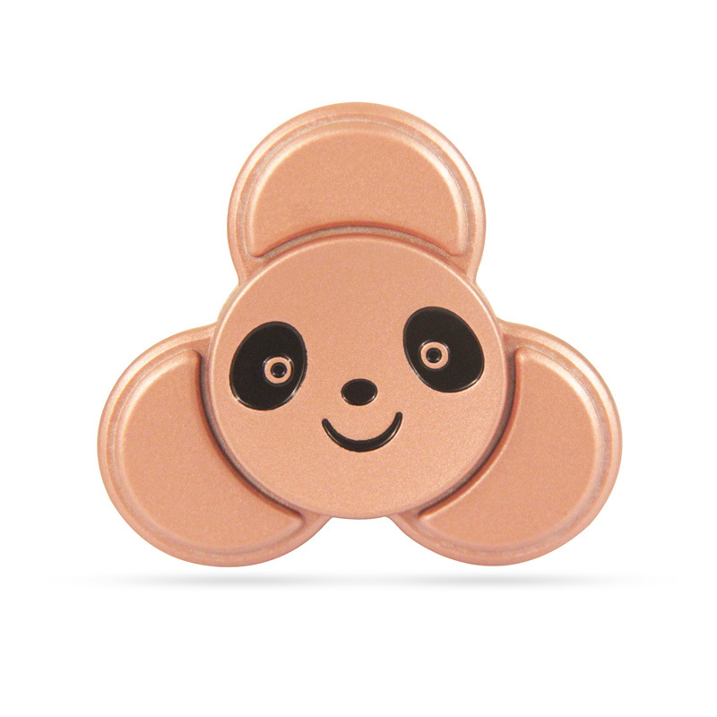 Panda High Speed Fidget Toys Heavy EDC Finger Spinner Cartoon Decorate Fidget Spinner Metal For Autism ADHD Adult Anti Stress infinity cube new style spinner fidget high quality anti stress mano metal kids finger toys luxury hot adult edc for adhd gifts