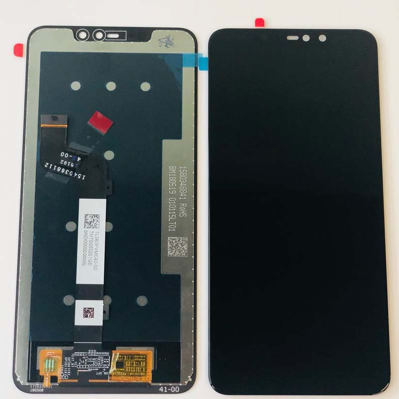 US $17 38 21% OFF|Original for Xiaomi Redmi Note 6 Pro Global LCD Display  Screen Touch Assembly Digitizer Touch Screen Parts+10point touch+Frame-in
