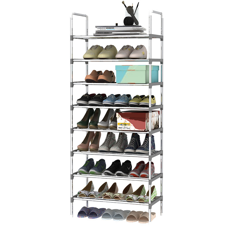 Moisture-proof Simple furniture Multi Layer Shoe rack erective Easy Assemble Storage Shelf Shoe cabinet for Doorway