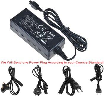 Adaptador de alimentação ca carregador para sony DCR-HC20, DCR-HC21, DCR-HC22, DCR-HC23, DCR-HC24, DCR-HC26, DCR-HC27, DCR-HC28, handycam filmadora