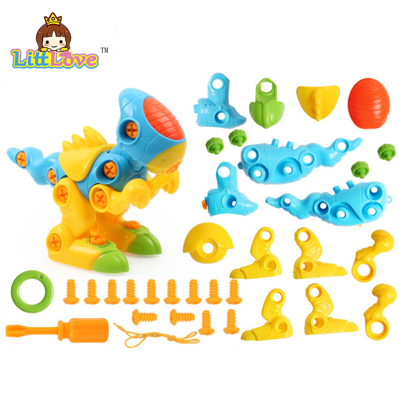 LittLove Dječje životinje Puzzle Obrazovne Igračke Djeca - Izgradnja igračke - Foto 4