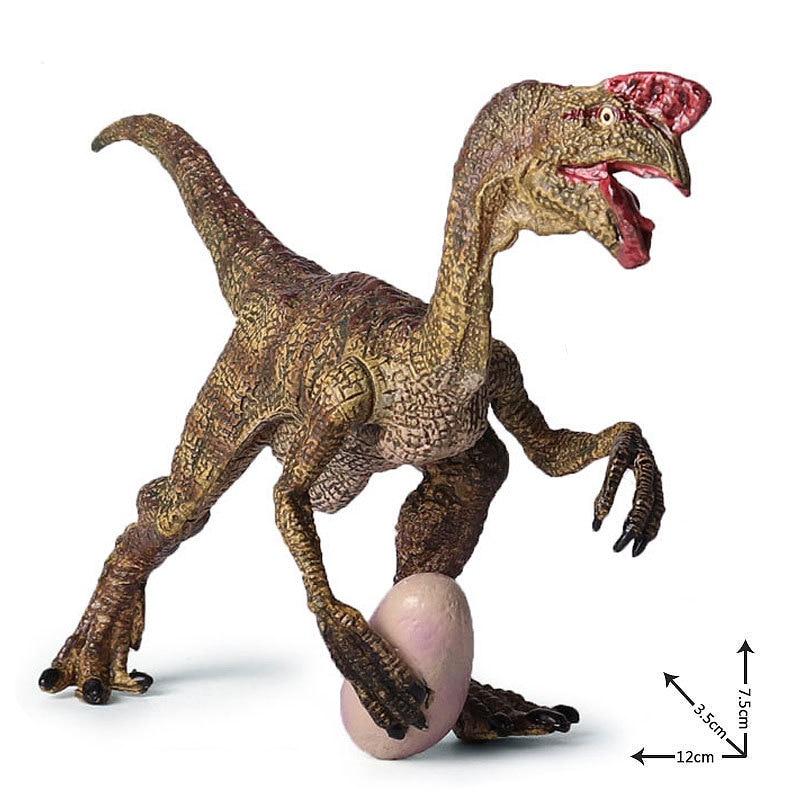 ộ_ộ ༽Figuras de acción y Juguete Jurassic oviraptor dragón robar el ...