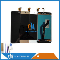 100 High Quality For ZTE A452 LCD Display Touch Screen Digitizer Assembly Only Gold Color 1PC