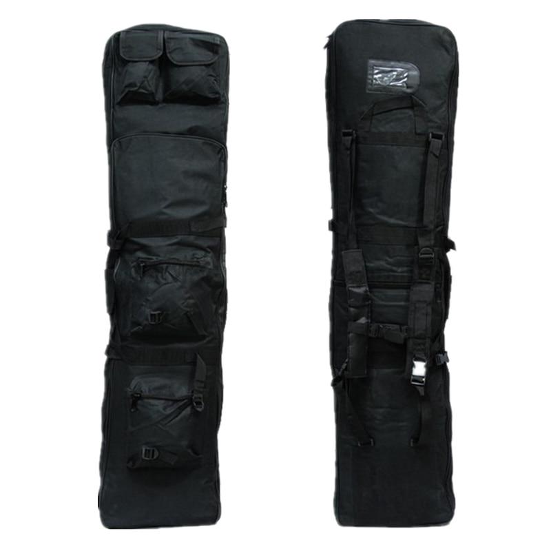 ФОТО 120cm military tactical gun bag rifle bag Tactical Heavy Duty Black Rifle Gun Slip Bag FG-01