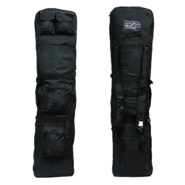 120cm military tactical gun bag rifle bag Tactical Heavy Duty Black Rifle Gun Slip Bag FG-01