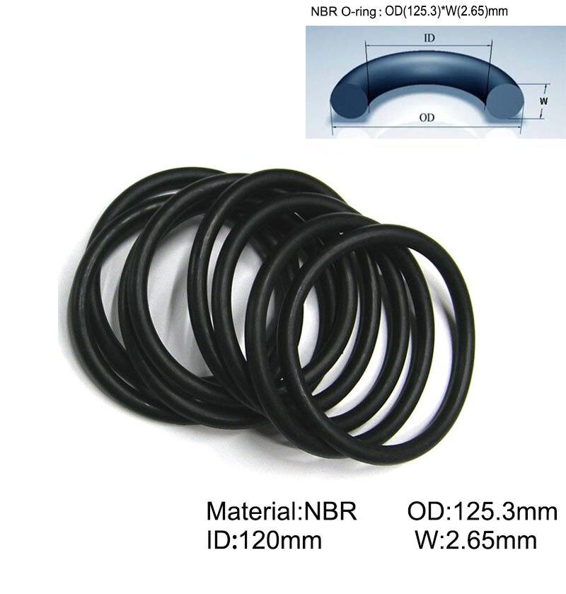 Menge 10 Stück O-Ring 65 x 3 mm EPDM 70 Dichtring