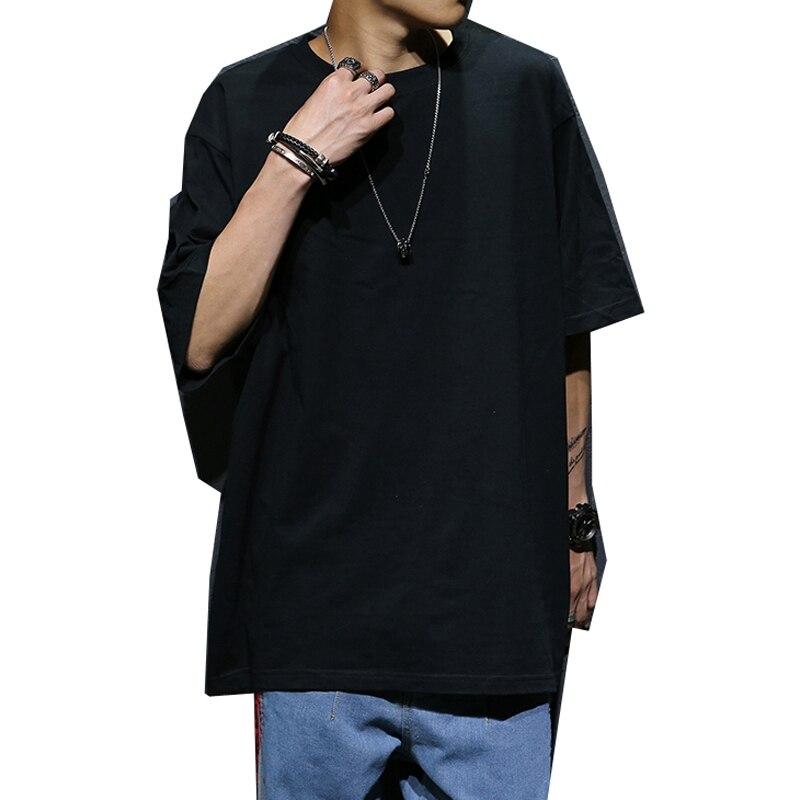 MFERLIER Men's short Sleeve T-shirt Hip hop summer tees Plus large Size Big 5XL tshirt Street dance Cotton 8XL 10XL T-shirts 9XL