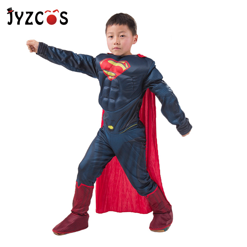 Purim Halloween Costume Spiderman Batman Superman Costume for Boy Kids Party Costume Carnival Superhero Avengers Cosplay Clothes