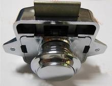20PCS Chrome Plated Push button cabinet latch for rv caravan motorhome Cupboard lock CP214