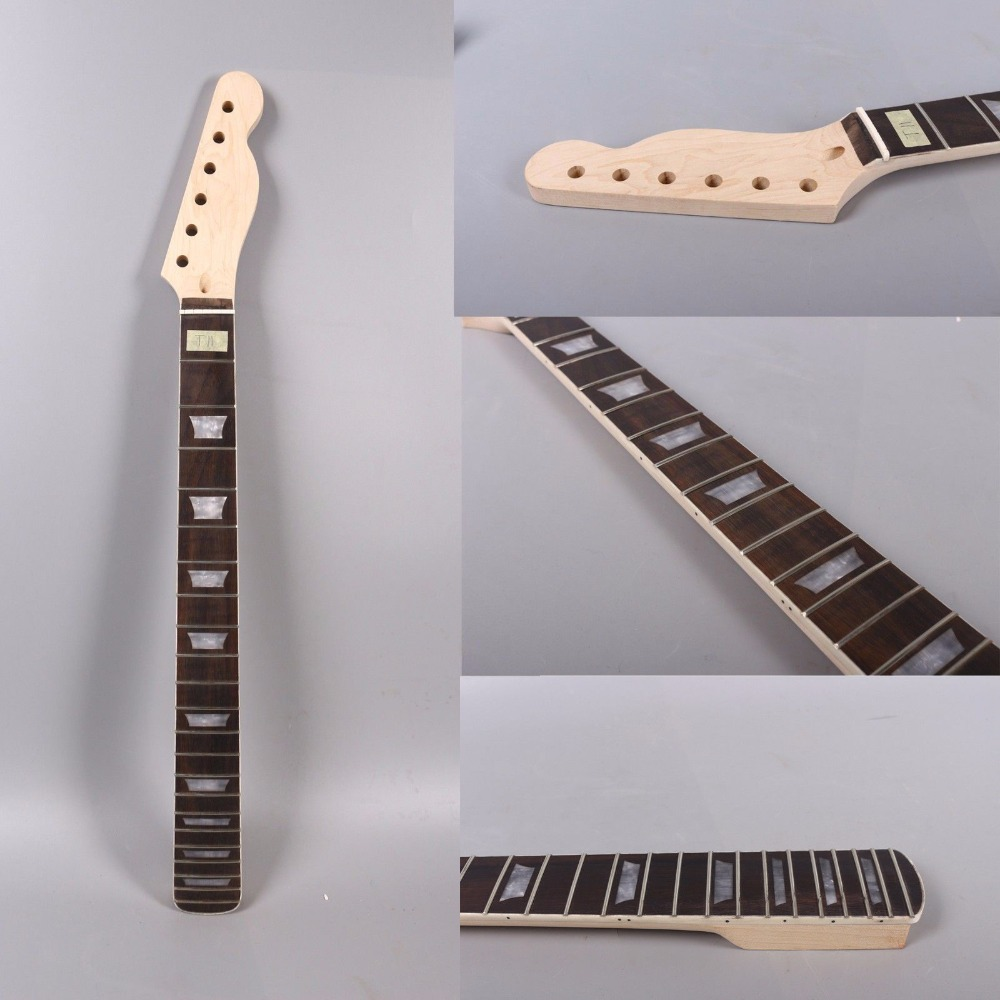 One TL electric guitar neck 25.5'' inch 22 fret MAPLE made and ROSEWOOD fingerboard bindding also have 21 fret one tl electric guitar neck 25 5 inch 22 fret maple made and rosewood fingerboard bindding also have 21 fret page 2