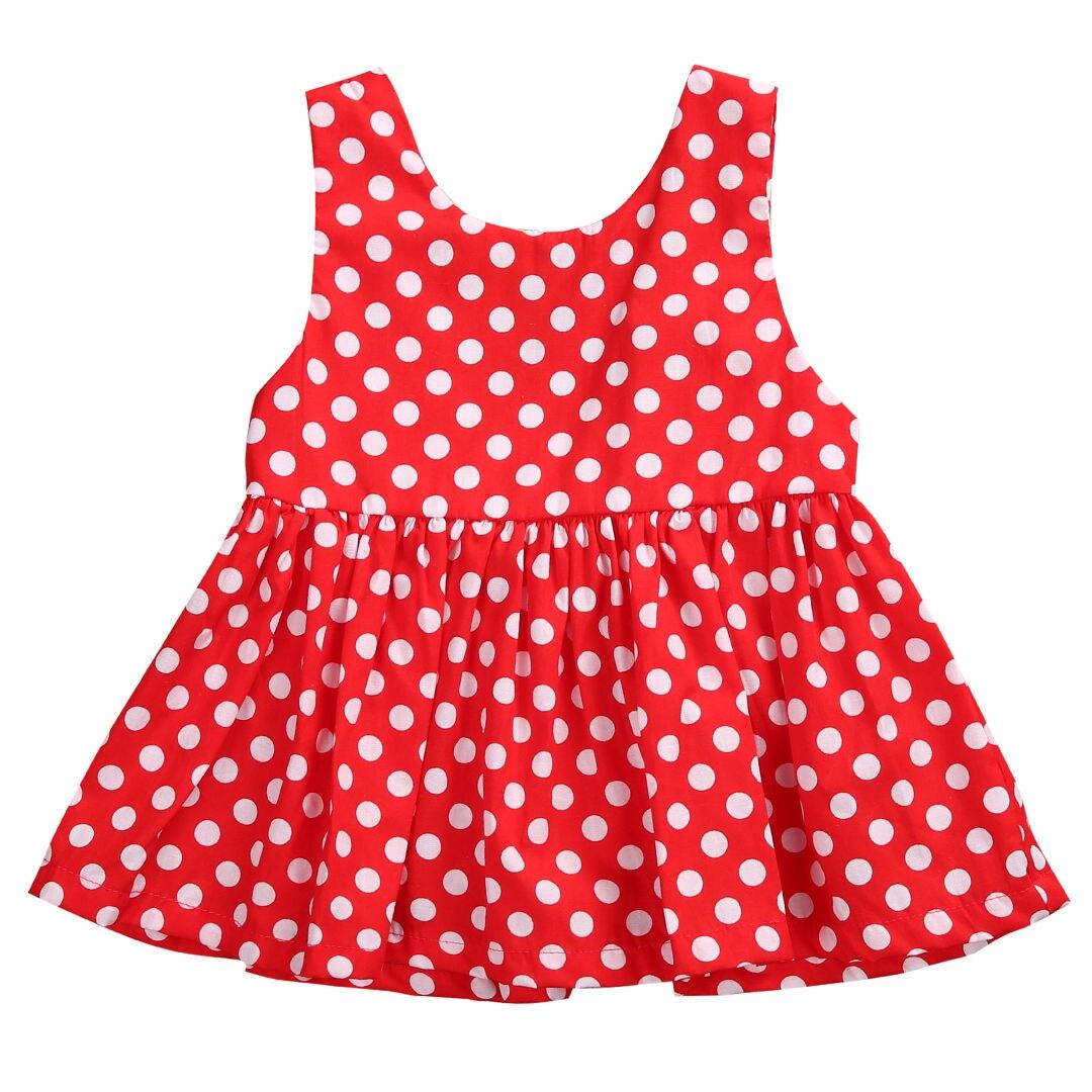 bling-bling  store 2017 Summer Brand New Baby Girls Dress Kids Clothes Vestidos Children Polka Dot Dress Princess Bebek Party Dresses