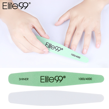 Elite99 Grün Polieren Nagel Schleifen Nagel Kunst Datei 3-Seite Maniküre Pediküre Buffer Werkzeug Nail art Puffer Shiner Nagel polnischen Werkzeug