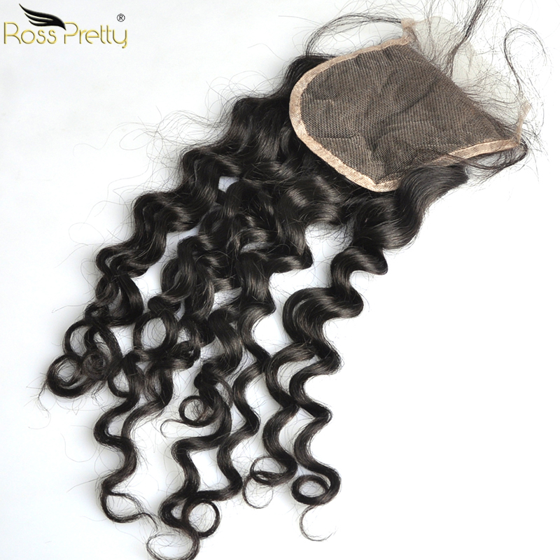 Remy Italy Curly Hair Bundles With Closure Baby Hair Swiss lace Pre Plucked Human Hair Weave Ross Pretty Hair 3pcs with closure in 3 4 Bundles with Closure from Hair Extensions Wigs