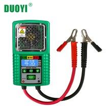 DUOYI DY226 тестер автомобильного аккумулятора 6 В и 12 В DC 4 цифры дисплей для UPS батарея для хранения солнечной энергии батарея морской батарея