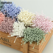 Mini Flower Flowers-Accessories Scrapbooking Stamen Cakes Artificial-Cards Wedding-Decoration
