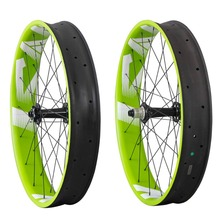 Toray T700 Углеродные колеса для fatbike 26er, колеса для fat bike Powerway M74, ступицы 10/11 скоростей, 90 мм Ширина UD-matt колеса FW90