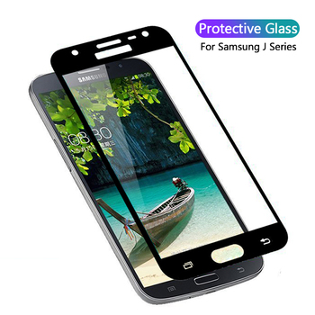 Tempered Glass For Samsung Galaxy J4 J6 J8 2018 Case For Samsung J3 J5 J7 2016 2017 Screen Protector Protection On J 3 4 5 6 7 8 image