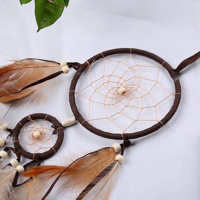 Retro Feather Kids Room Dream Catcher