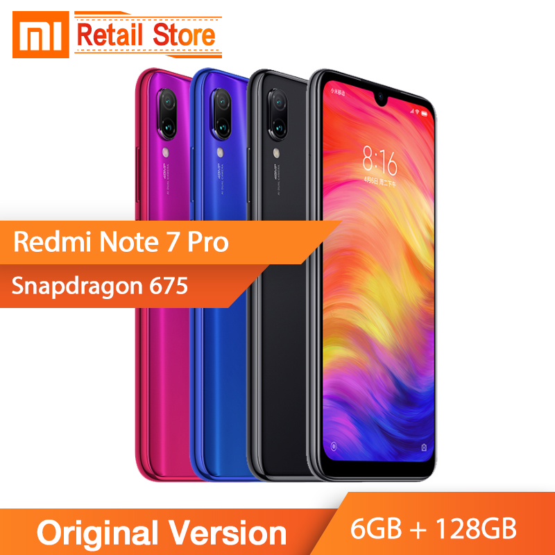 Chinese Version Xiaomi Redmi Note 7 Pro 6GB + 128GB Mobile