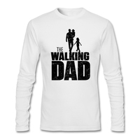 Adult Man The Walking Dad T Shirts band Creation Greatest Father O-Neck Tees Fashionable men Free shipping t-shirts